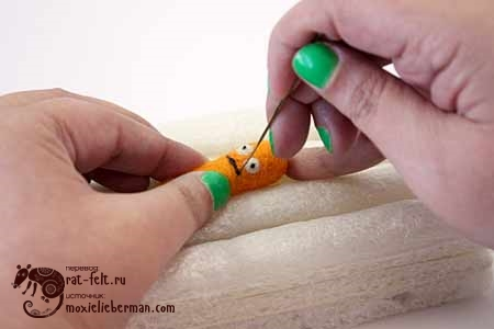 валяем морковку