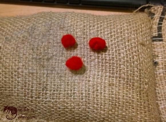 шерсть для ягод