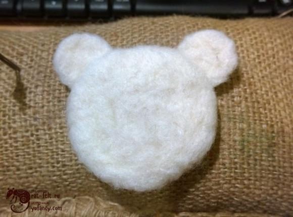 заготовка медведя