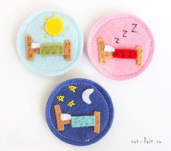 Детские часы время сна