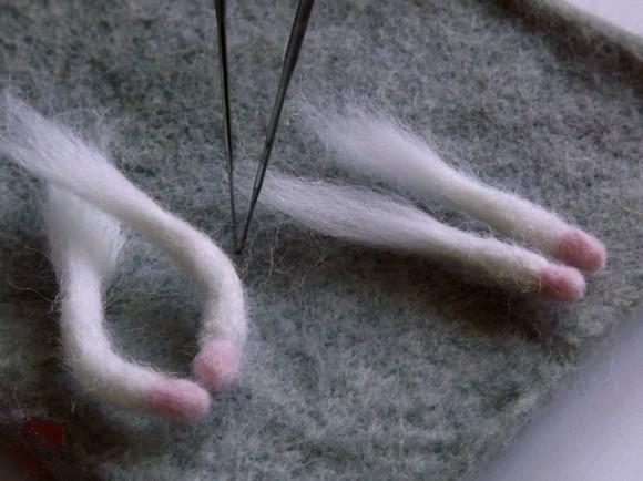 готовые лапки крысы