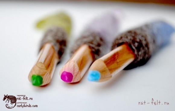 Обвалянные карандаши