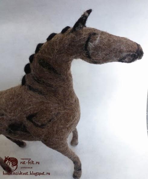 Скульптура лошади своими руками