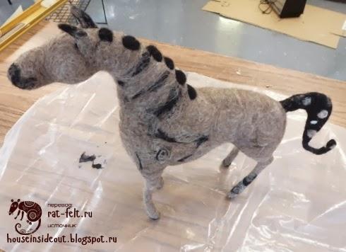 Окрас шерстяной лошади