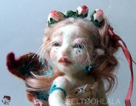 Feltohlala кукла из шерсти