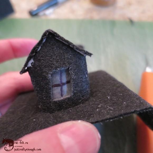 Крыша для окошка