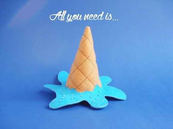 Голубое мороженое