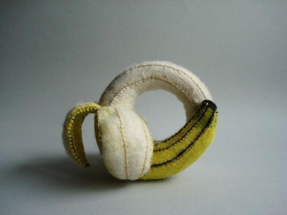 Оригинальный банановый браслет