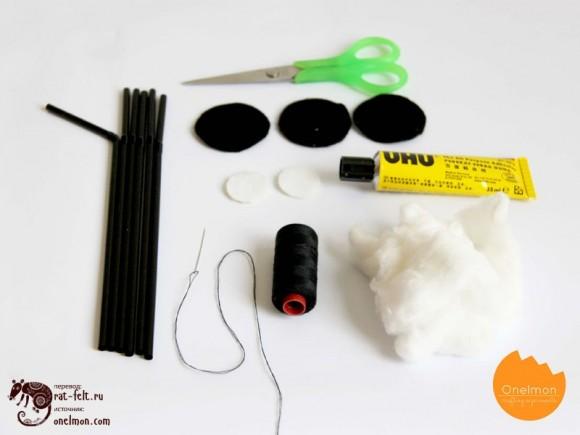 Материалы для создания паучка