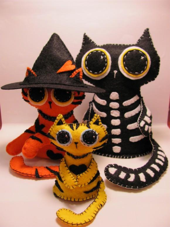 Коты-скелеты