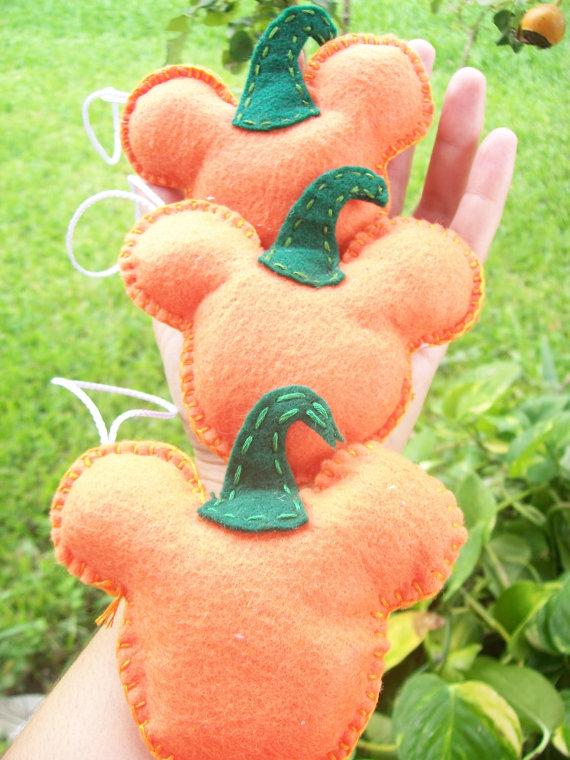 Тыквы Мики-Маусы от BellisimaSofia