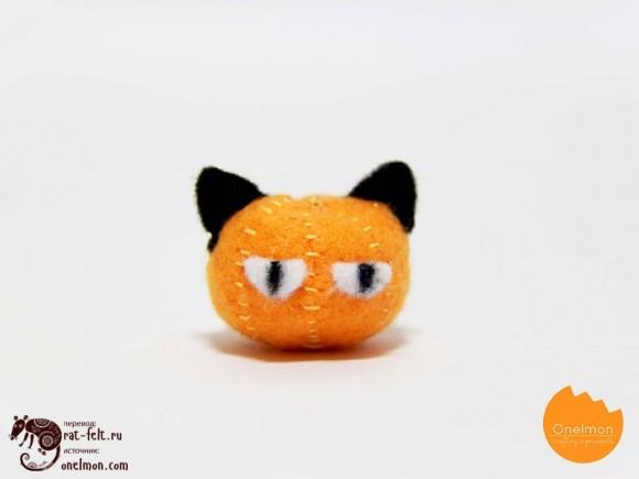 Оформление мордочки кошки