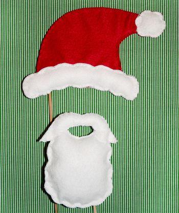 Jessica Peck - шапка и борода на Новый год