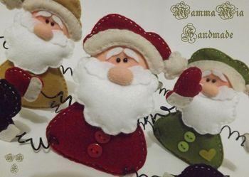 Mamma Mia handmade - Санта Клаус