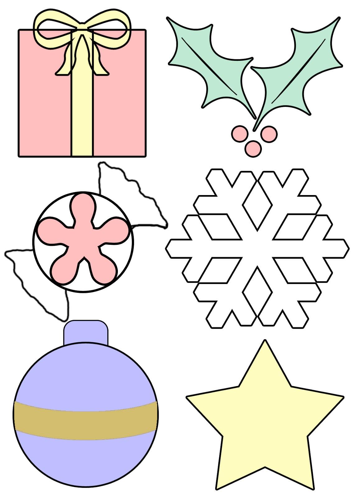 Шаблоны для игрушек из фетра новогодние скачать