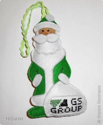 Зеленый Дед Мороз