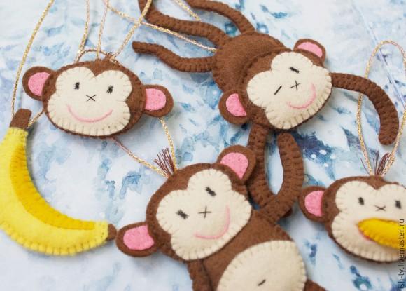 Задорные обезьянки с бананами от ЫШТЫ