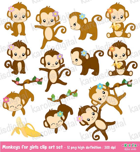 Шаблон обезьянки своими руками