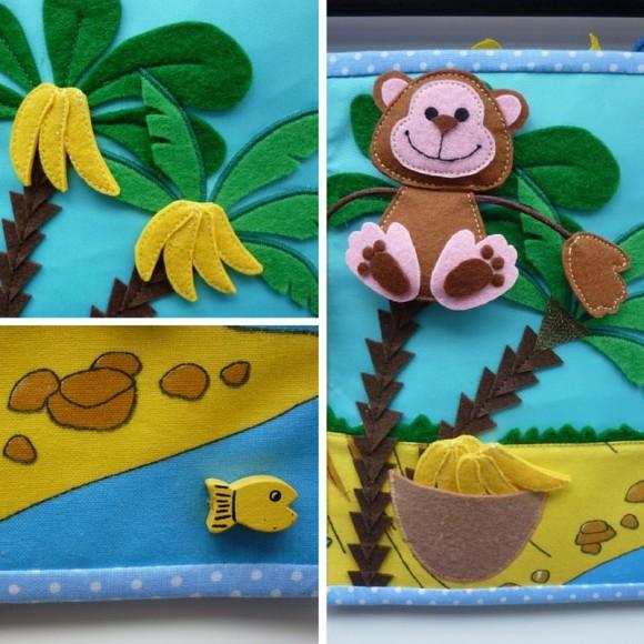 Мартышка и бананы - страничка в тихой книге Ольги
