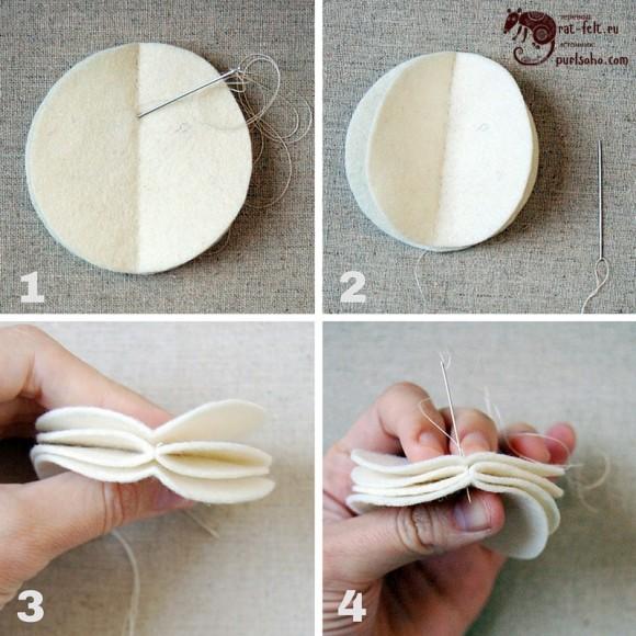 Этап 1 - сшивание первого слоя