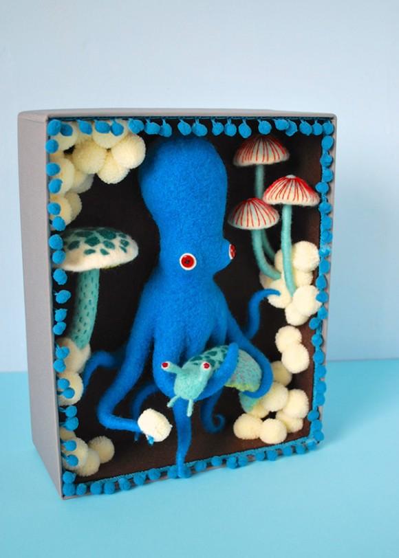 Синий осминожек