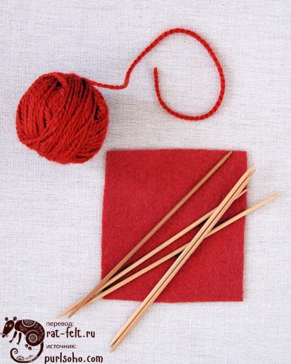 Инструменты и материалы для рукавиц