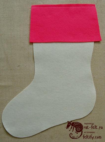 Носки в процессе создания