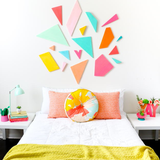 colorful-geometric-headboard