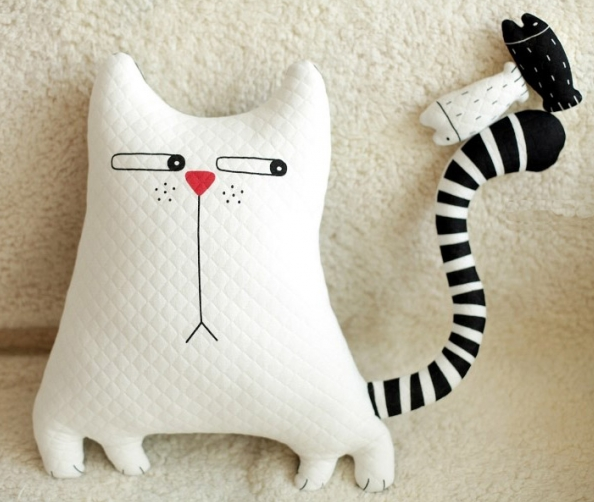 Картинки подушек коте