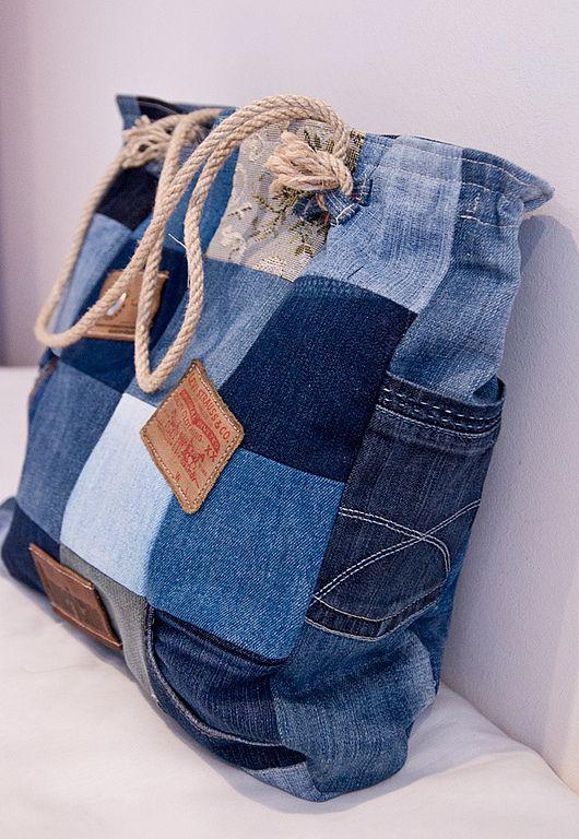 Рюкзак из джинсов своими руками (79 фото выкройки и мастер)