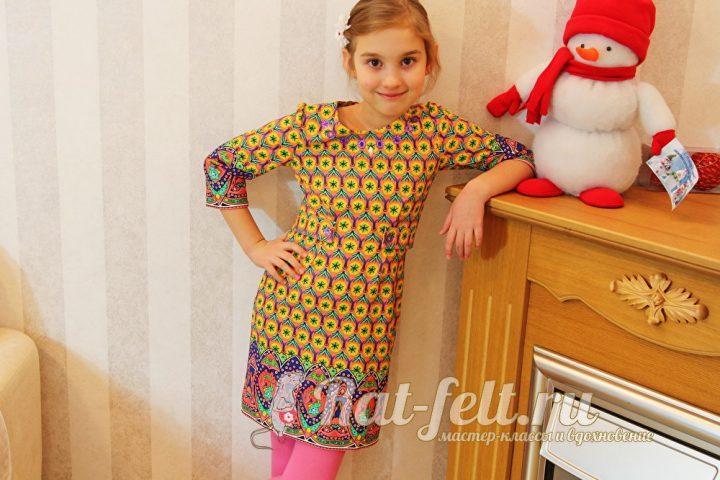 Пошить детское платье своими руками