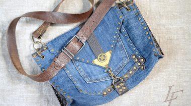 Миниатюра к статье Посмотрите, что умелицы делает со старыми джинсами… Не выбрасывать же такую находку!