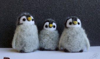 Миниатюра к статье Пингвин из шерсти— симпатичный сувенир