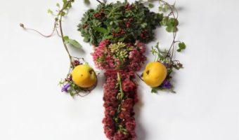 Миниатюра к статье Цветочная анатомия— внутренние органы человека, воссозданные из цветов и растений