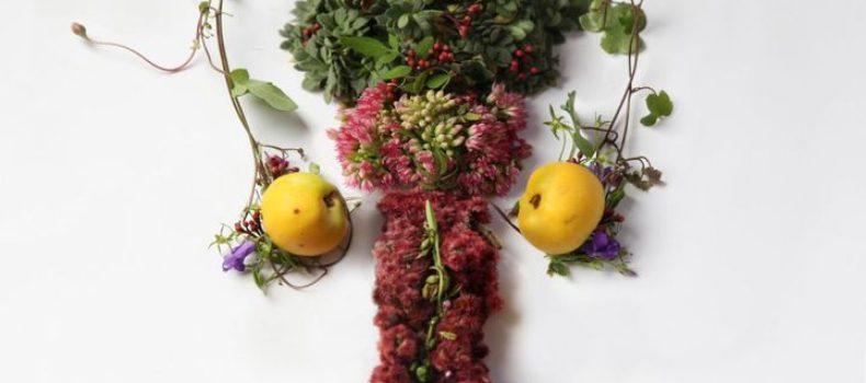Миниатюра к статье Цветочная анатомия — внутренние органы человека, воссозданные из цветов и растений