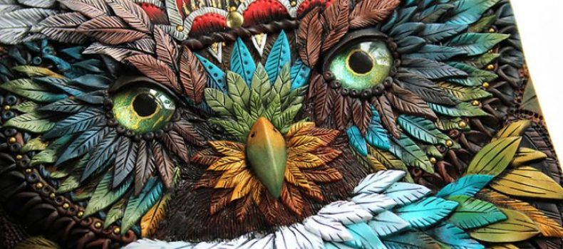 Миниатюра к статье Сказочные обложки из полимерной глины от дизайнера Анико Колесникова
