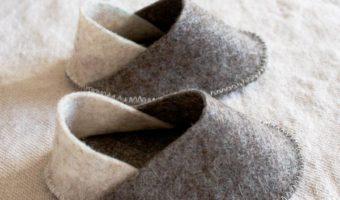 Миниатюра к статье Пинетки из фетра— выкройка и мастер-класс